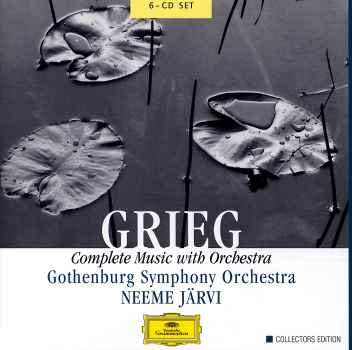COMPLETE MUSIC WITH ORCHESTRA (BOX)-GRIEG / BONNEY / GSO / JFARVI
