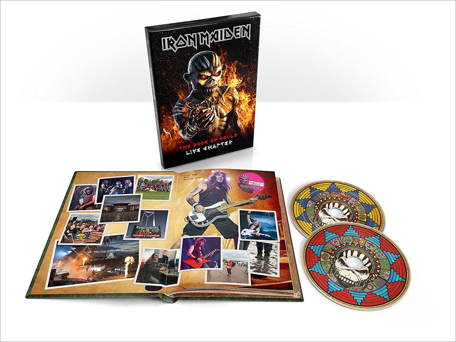 BOOK OF SOULS: LIVE CHAPTER (W / BOOK) (LTD) (DL-IRON MAIDEN