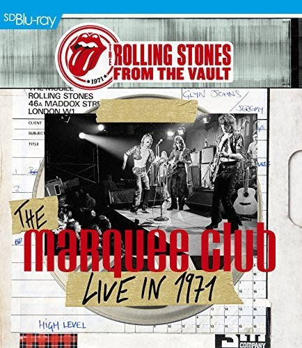 FROM THE VAULT: THE MARQUEE CLUB LIVE IN 1971-ROLLING STONES