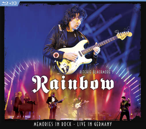 MEMORIES IN ROCK - LIVE IN GERMANY (3PC) (W / CD-RITCHIE BLACKMORE