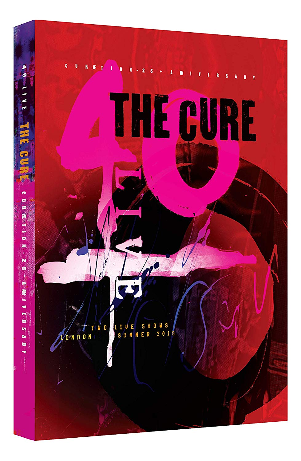 40 LIVE CURAETION 25 + ANNIVERSARY (2PC)-CURE
