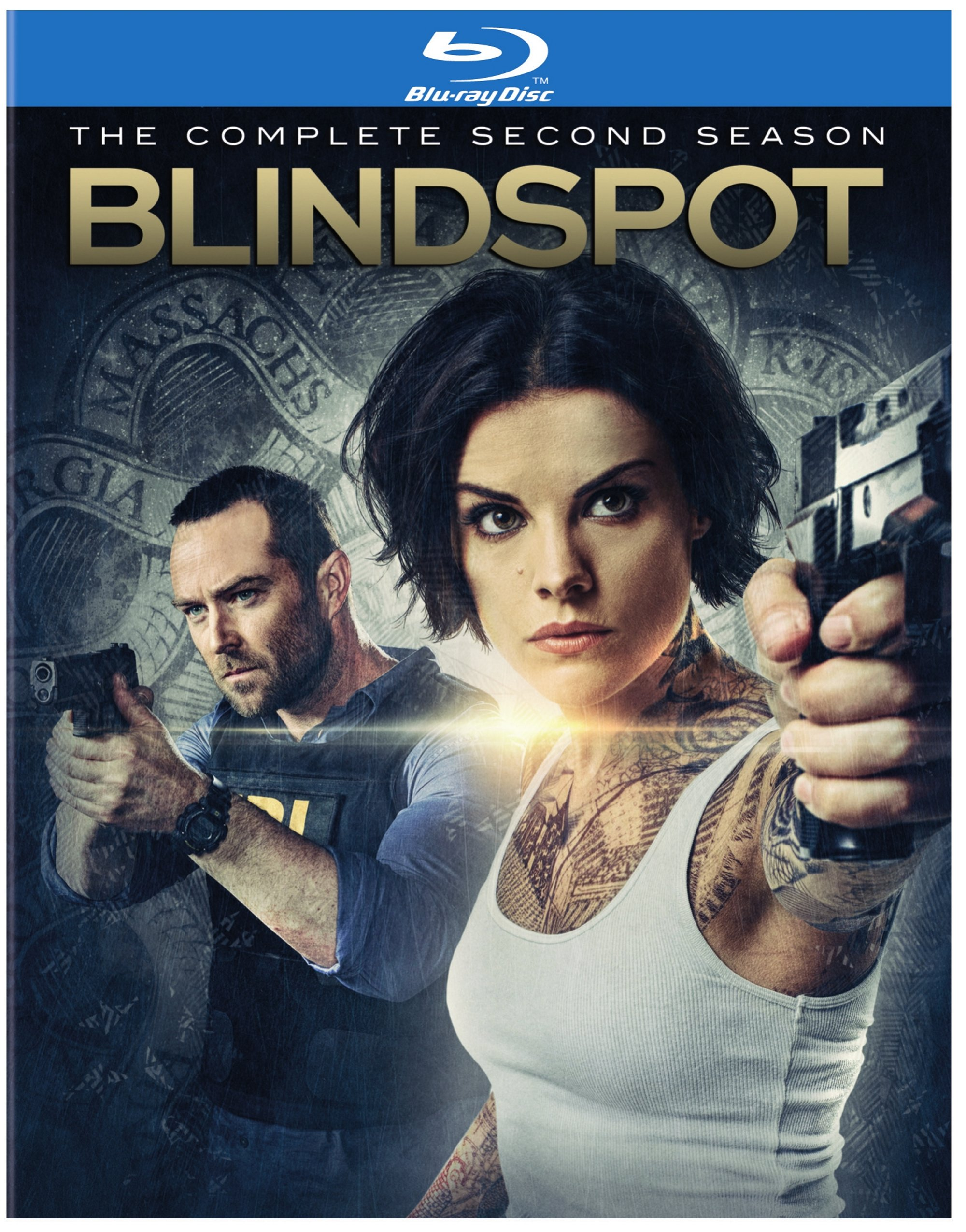 BLINDSPOT: THE COMPLETE SECOND SEASON (4PC)-BLINDSPOT: THE COMPLETE SECOND SEASON (4PC)