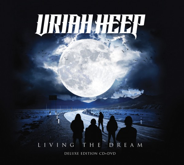 LIVING THE DREAM (W / DVD) (DLX)-URIAH HEEP